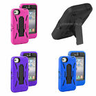 Armour Tough Case For Apple iPhone 4S 4 - Shock Proof Stand Hard Cover Skin