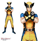 MENS WOLVERINE ZAPPER SUPERHERO MORPHSUIT FANCY DRESS COSTUME