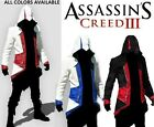 ASSASSIN'S ASSASSINS CREED III CONNER KENWAY COAT JACKET COSPLAY COSTUME