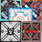 NFL Licensed Product SKULL Cap Doo RAG Du Biker Hat Scarf Head Bandana Face Mask