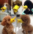 Cute Pet Dog  Puppy Muzzle Duck Face Lip Mouth Guard Protection Anti-barking LG