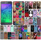 For Samsung Galaxy Alpha G850 Zig Zag TPU SILICONE Soft Rubber Flexi Case Cover