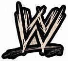 "2.5-5.5"" WWE WRESTLING LOGO NOVELTY CUSTOM  HEAT TRANSFER IRON ON"