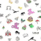 50/100pcs Mix Cute Floating Charms F/glass Living Memory Locket Necklaces random