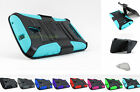 Alcatel One Touch Pop Mega LTE | Hybrid Armor Rugged Case&Clip Holster+PryTool