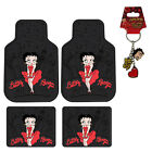 New Betty Boop Red Dress Skyline Car Truck SUV Front Rear Back Rubber Floor Mats $65.98 USD