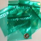 "Green baggies 3 x 3"" Apple reclosable mini ziplock bags 100 200 500 1000"