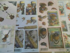 2x A4 NDC Decoupage Hobbies Guitar, Golf, Cricket, Football Various Designs