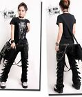 VISUAL KEI PUNK rave rock cool gothic Japan Kera NANA COOL Pants Trousers M-4XL