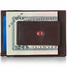 AlpineSwiss Mens Leather Money Clip Magnet Front Pocket Wallet Slim ID Card Case фото