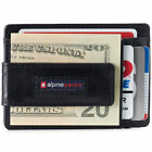 Antiques - AlpineSwiss Mens Leather Money Clip Magnet Front Pocket Wallet Slim ID Card Case
