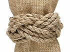 Jute Rope Napkin Rings by Park Designs, Choice of Sets, Natural, Sailors Knot