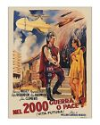 Vita Futura - Vintage Italian Film/Movie Poster - HG Wells Things to Come