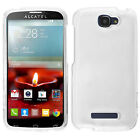 For Alcatel OneTouch Pop Icon HARD Protector Case Snap Phone Cover +Screen Guard