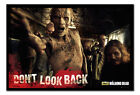 Framed The Walking Dead Zombies Don't Look Back Poster New