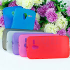Silicone Gel Case Cover + 1X Ultra Clear Screen Protector For Motorola MOTO X FA