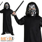 Death Eater Boys Fancy Dress Harry Potter Book Week Kids Childs Costume Outfit