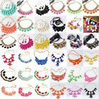 Hot Fashion Vintage Womens Girls Bubble Bib Party Statement Necklace Collar New
