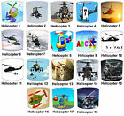 Lampshades Ideal To Match Helicopter Wall Decals & Stickers Helicopter Duvets.