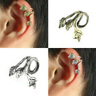 Hot Vintage Earrings Stud Leaf Design Earring Ear Cuff Wrap Clip Earring Thrifty