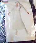 White Winged Phantom Ghost Costume Womens Small Large NIP