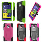 Trifecta hard Cover Silicone Case For HTC 8XT Windows Phone
