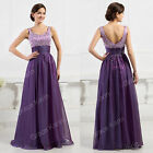 FREE SHIP Party Prom Dresses Formal Evening Ball Gowns Long Wedding Maxi Dress