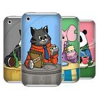 HEAD CASE DESIGNS ANIMALS BREAKTIME HARD BACK CASE FOR APPLE iPHONE 3GS