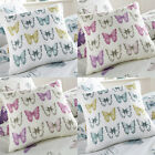 Dreams 'N' Drapes Chantelle Butterfly Rows Filled Cushion