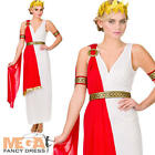 Roman Lady Historical Fancy Dress Ladies Ancient Rome Womens Greek Adult Costume