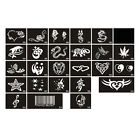 TA19 1 Sheet, 10 Sheets Body Art Tattoo Stencil Series-No.488-516