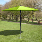 Alfresia 2.5m Garden Parasol with Crank and Tilt - Choice of Colours