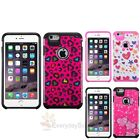 "For iPhone 6 / 6 Plus 5.5"" Hard Silicone Advanced Armor Hybrid Rubber Case Cover"