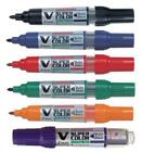 Pilot V Super Color Bullet Marker Pen, Box of 10