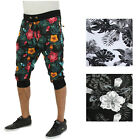 Jordan Craig Men's Floral Capri Joggers Pants Sweatpants