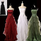 Women Long Ball Gown Evening Bridal Formal Bridesmaid Prom Party Dress PLUS 2-16