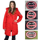 Canadian Canada Outdoors Women's Parka Coat with Faux Fur Hood Triple Goose
