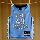 @ North Carolina Tar Heels Nike #43 Blue Basketball Toddler Jersey - Retail $38