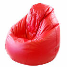 Cover Only Extra Large XL Faux Leather Classic Pear Gaming Chair Seat Bean Bag
