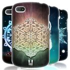 HEAD CASE SNOWFLAKES SILICONE GEL CASE FOR BLACKBERRY Q10