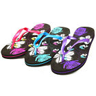 Womens Flip Flops Beach Summer Sandals Thongs EVA Foam Rubber Sole 5 Cool Colors