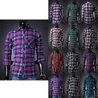 CHEAP Mens Designer Shirts Slim Stylish Dress Shirts Long sleeve Formal Shirt