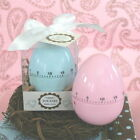 Time For Baby Pink Or Blue Egg Timers Baby Shower Favors