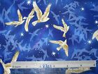 Peaceful Dove stars faith birds cotton quilting fabric *Choose design & size