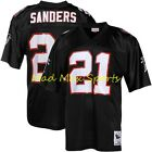 DEION SANDERS Atlanta FALCONS Authentic M&N Mitchell and Ness Throwback Jersey