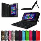 Bluetooth Keyboard PU Leather Stand Cover Case for HP Stream 7 (Model 5701/5709)