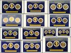Presidential Dollar 3 Coin Set Proof Uncirculated First Day of Issue Liberty $1