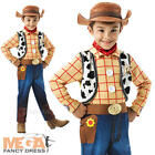 Deluxe Toy Story Woody + Hat Kids Fancy Dress Disney Cowboy Kids Childs Costume