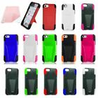 Trifecta Hard Cover Silicone Case For Apple iPhone 5C