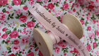 1m or 5m Personalised 'Handmade by' ribbon~personalise with your name